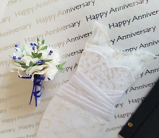 Paper Origami Wedding Outfits for 1st Anniversary | by emmajg28