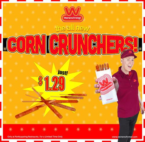 Wienerschnitzel Corn Crunchers | by Scotty of Eden