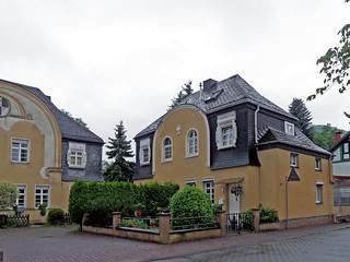 Namedy - Neobarocke Doppelhäuser (1909-1911)