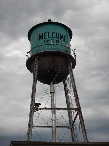 welcome minnesota watertower