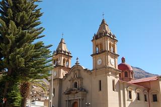 Cathedral in Tarma, Junín, Peru   by blueskylimit