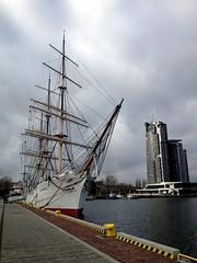 Gdynia and sea