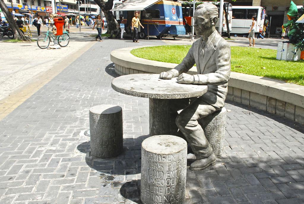 Carlos Pena Filho, Praça da Independência, Bairro de Santo… | Flickr