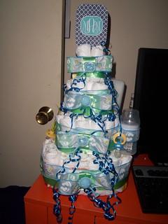 Diaper Cake - Baby Boy