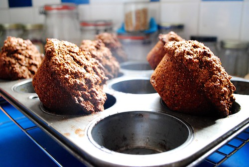 bran muffins | by piebelly