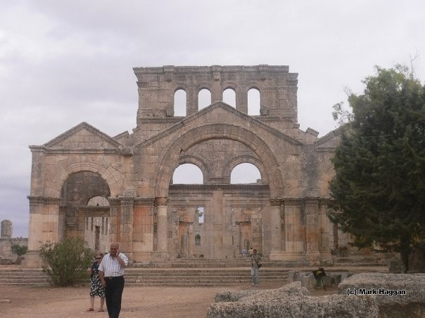 The Bastion of St Simeon Stylites, northern Syria