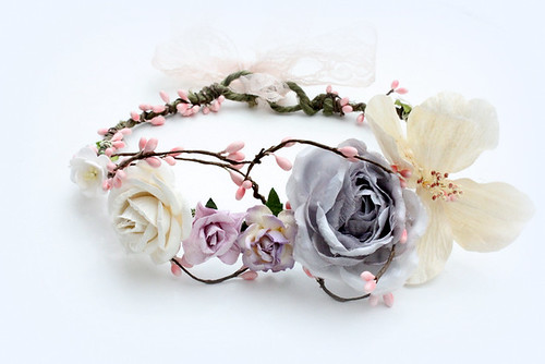 Pastel blooms wreath | by Mannia&Titta