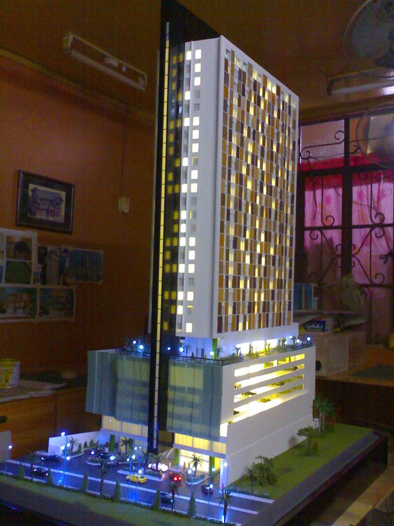 City Soho HOTEL CEBU | AML, Architectural Model Maker group