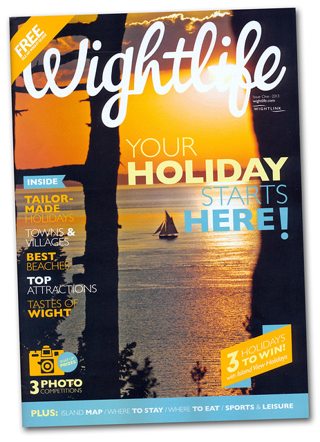 Wightlife Magazine Cover 2013