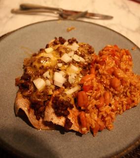 Chile Con Carne Enchiladas   by kissmywhisk