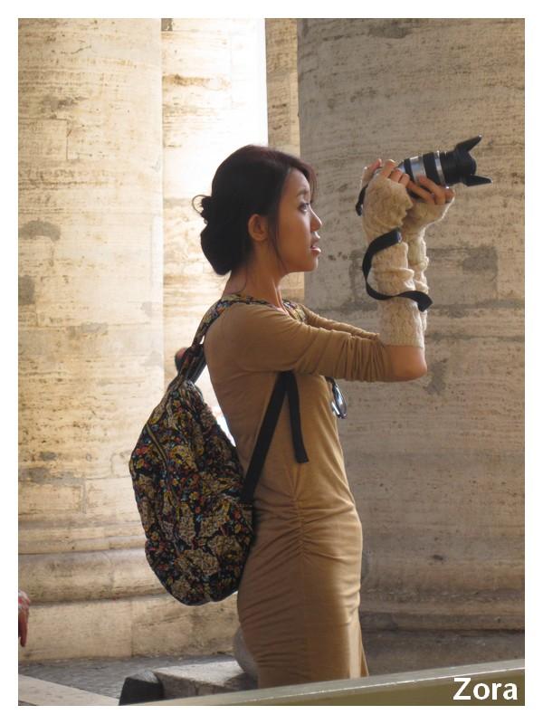 Belle photographe
