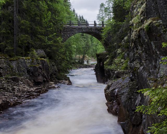 Brattfallet, Varmland, Sweden. Bridge