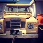Land Rover pickup truck