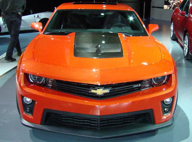 2012 Canadian International Auto Show camaro zl1 2012