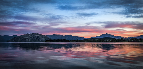sunrise wanaka newzealand otago southisland sculler rowing boat coxswain serene placid lake mountains colorful hdr viveza niksoftware nikon d800 nikond800 elmofoto queenstownadventure 1424mm nikkor aotearoa sculling forcurators explored explore fav10 fav20 fav30 fav40 fav50 fav60 fav70 fav80 travel travels fav100 10000v