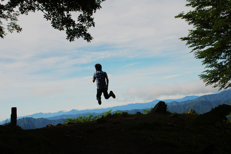 雲取山の夏