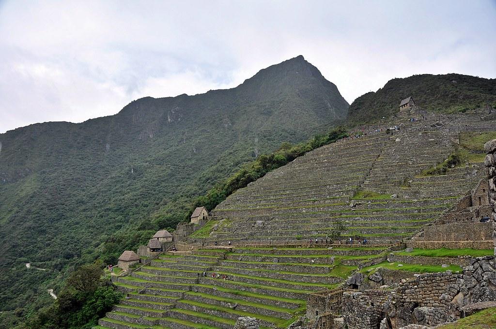 Graneros Y Terrazas De Cultivo Machu Picchu El Sector Ag