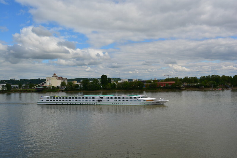 Arrivée du paquebot fluvial CYRANO DE BERGERAC à Bordeaux - 30 avril 2013