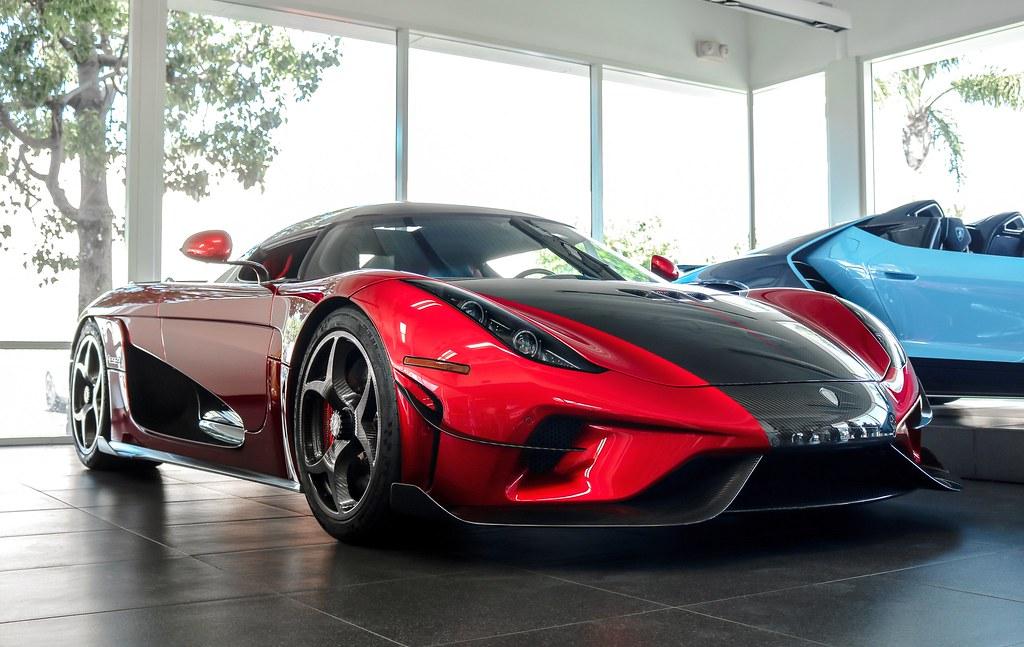 Lamborghini Newport Beach June 2018 Koenigsegg Regera Noah