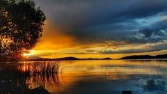 Klamath Lake Sunset