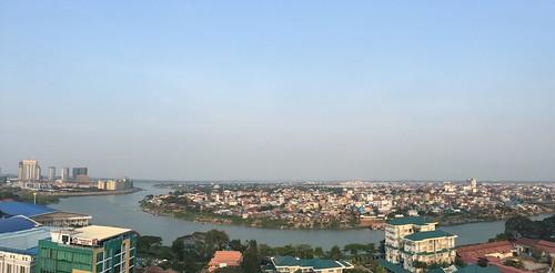កម្ពុជា cambodia រាជធានីភ្នំពេញ phnompenh tonlebasak chamkarmon tonlebassac mekong bassac ទន្លេបាសាក់ kohpich កោះពេជ្រ diamondisland ភ្នំពេញ
