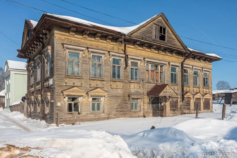 Дом усадьбы Мичурина, Солигалич