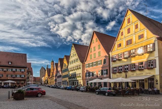 Dinkelsbühl - old city, colorful and alive