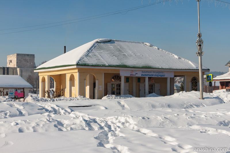 Торговые ряды 2000-х годов постройки, Солигалич