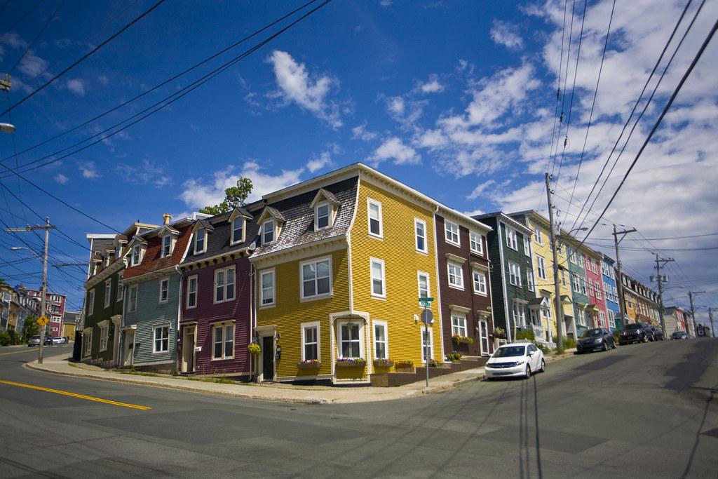 Jelly Bean Row >> Jellybean Row Houses Of St John S Newfoundland Mike Norton Flickr