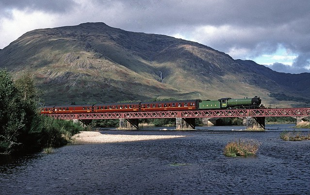 Orchy viaduct Steam