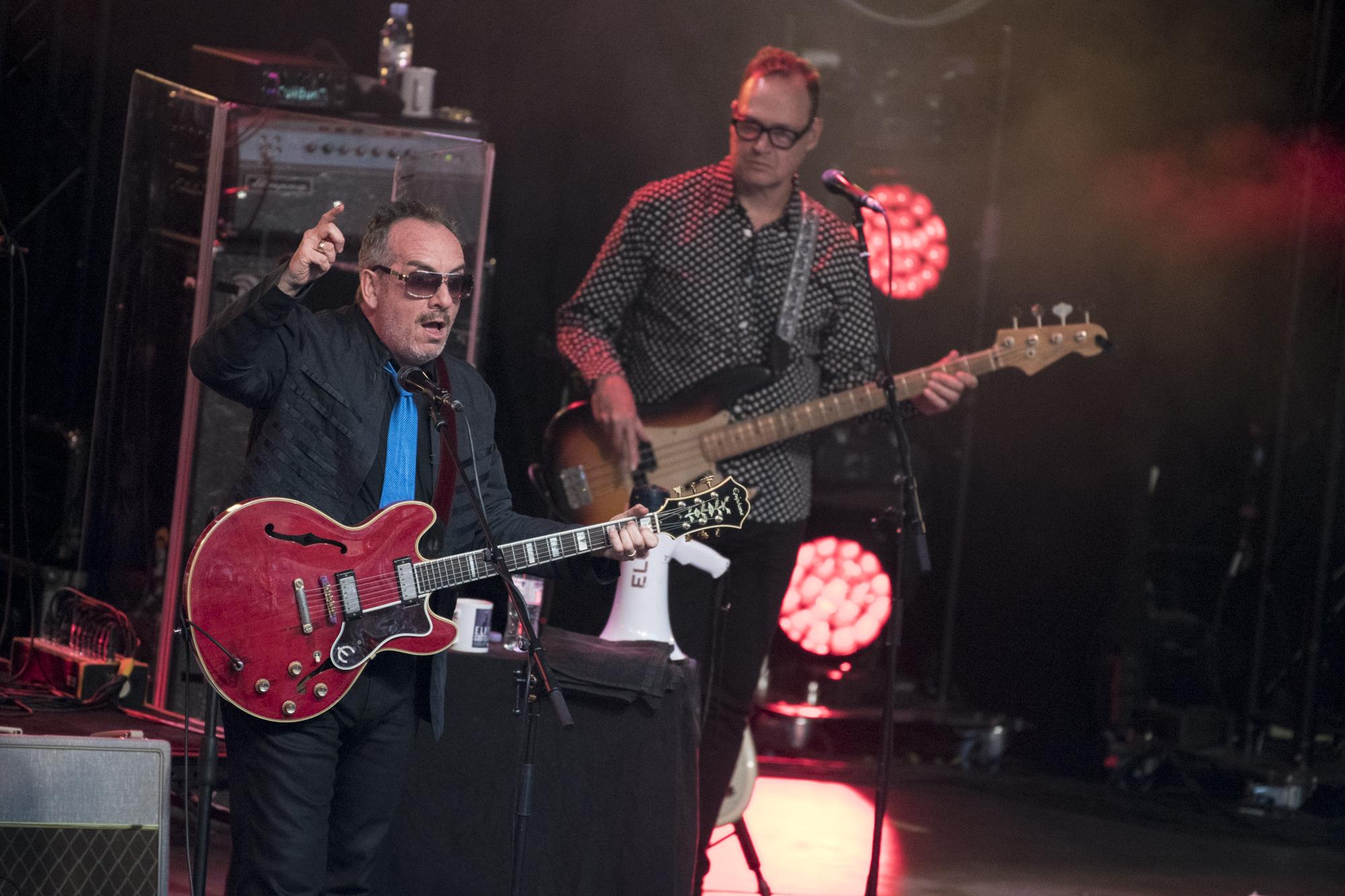 Elvis Costello @ Rivierenhof 2018 (Nick De Baerdemaeker)