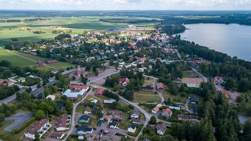 dronephotography drone säkylä village katinhäntä