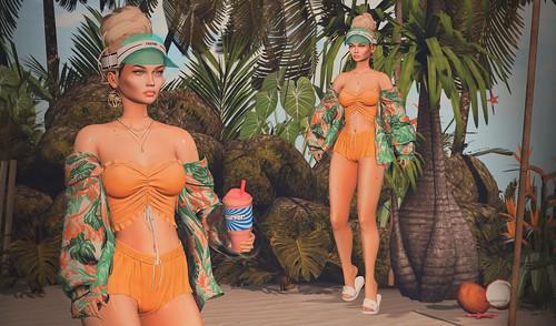 Island Vibes | by Cara Olivieri