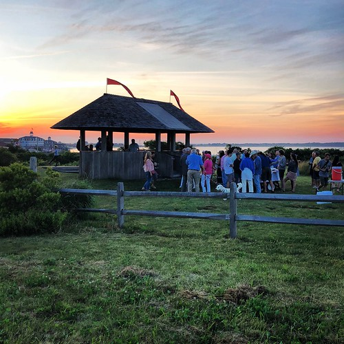 blockislandlife fullmoonparty oceanviewfoundation natureconservancy oceanviewpavilion sunset blockisland rhodeisland