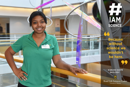 #IAmScience K'Imani Davis | by Bond LSC