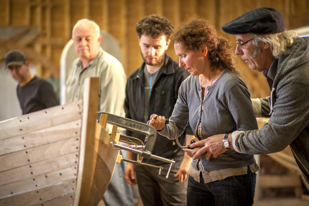 Boat Building Workshop Wooden Boat Museum Of Newfoundland Flickr