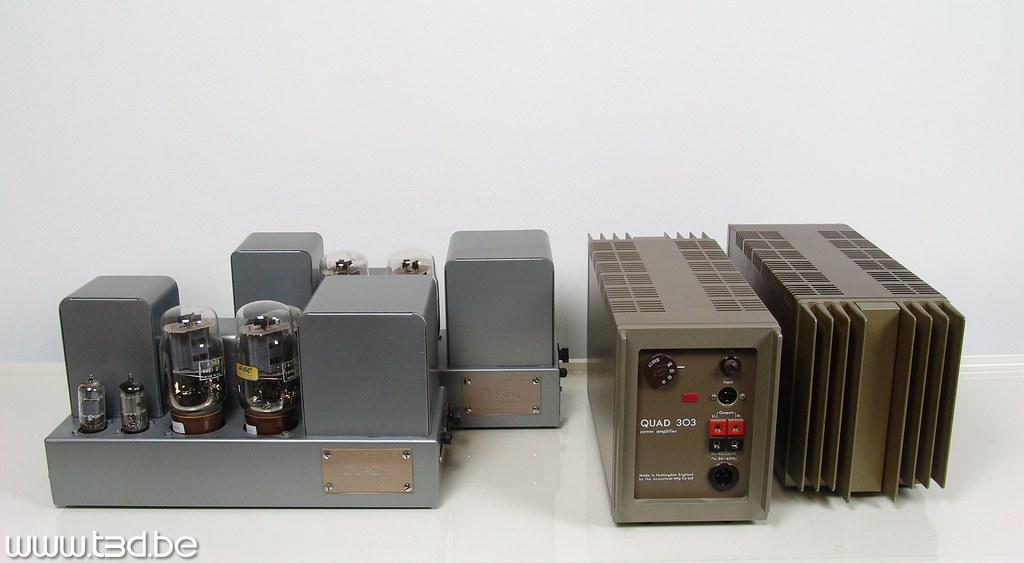 Quad II Monoblock Tube Amplifier and Quad 303 Stereo Ampli… | Flickr