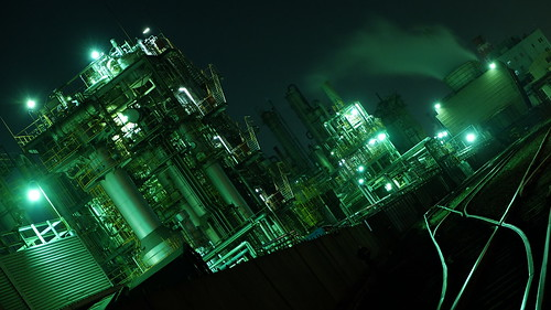 Kawasaki factory night scene 11 | by HAMACHI!