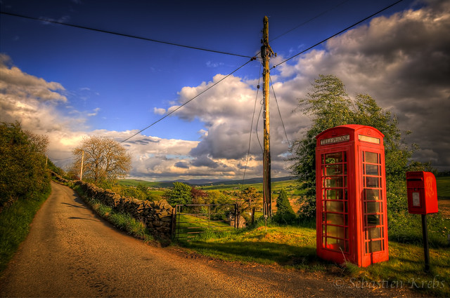 The Red Phonebox