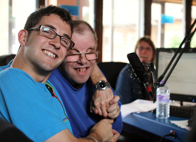 Broadcasting, our experts by experience are the voice of the learning disabled community.
