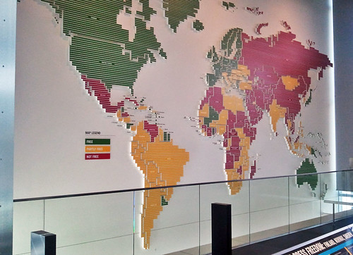 press-freedom-by-country | by quirkytravelguy