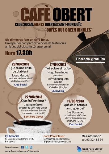 Cafè Obert II trimestre (Club Social Ments Obertes) | by Grup - Fundació Sant Pere Claver