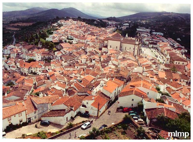 Castelo de Vide vue depuis le château