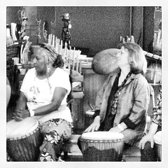 #Mplocal At African Drumming and Woman Wellness Festival in Inglewood.