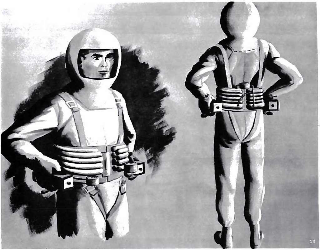 early spacesuit concept! | James Vaughan | Flickr
