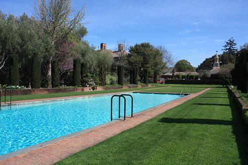 Swimming Pool, Filoli #historic #estate #california