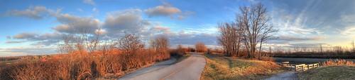 sky panorama ny clouds brighton eriecanalheritagetrail suncoming