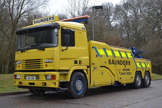 E14 TOW ERF EC14 Boniface Recovery Lorry Saunders Recovery