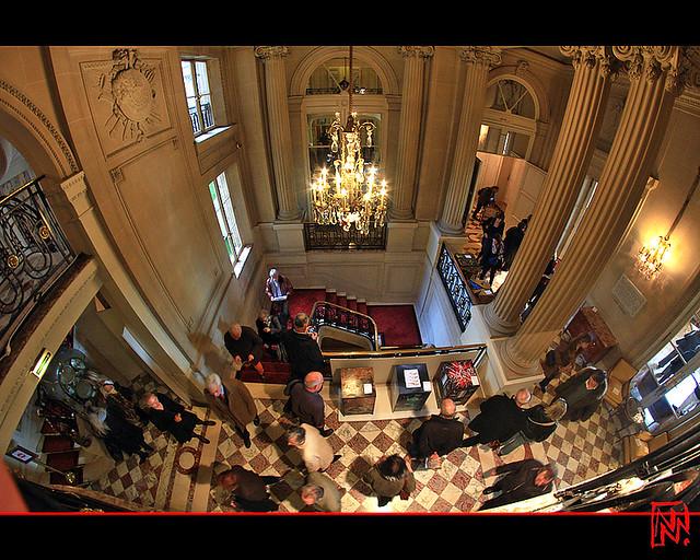 Hôtel de Crillon : vers les grands salons