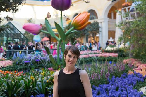 Michelle at Bellagio